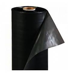 Пленка полиэтиленовая черная 50 мкм в рулонах, 3м/100м
