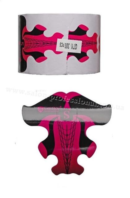 Формы Salon Professional ,формы для наращивания ногтей,по акриловой или гелевой технологиях,300 шт.