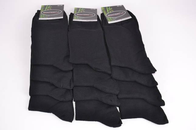 Носки мужские Черные р.42-46 (Y740) | 12 пар, фото 2