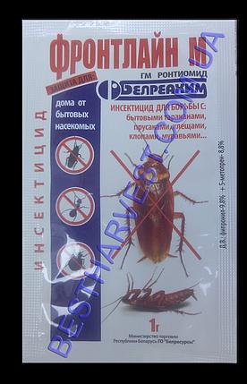 Средство от тараканов, блох Фронтлайн М 1г, фото 2