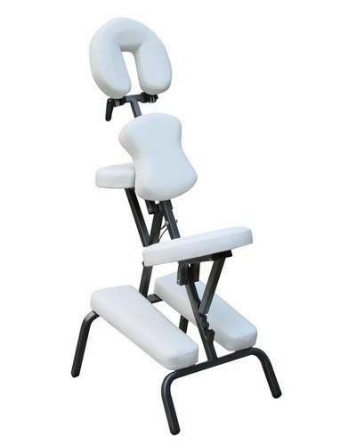 Массажный стул с сумкой чёрный