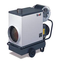 Дизельные мобильные теплогенераторы Kroll серии M25 (25кВт)