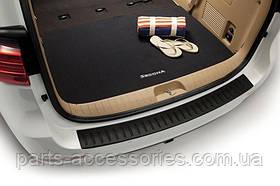Kia Sedona 2014-17 коврик велюровый в багажник новый оригинальный