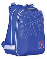 Ранец школьный ортопедический Англия (синий)