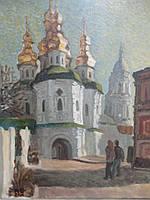 """Картина """"Вход в собор"""""""