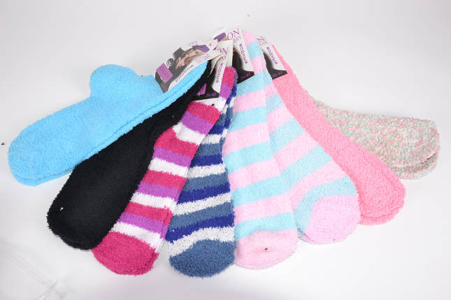 "Женские носки махровые ""Травка"" р. 36-42 (BL03/3) | 12 пар, фото 2"