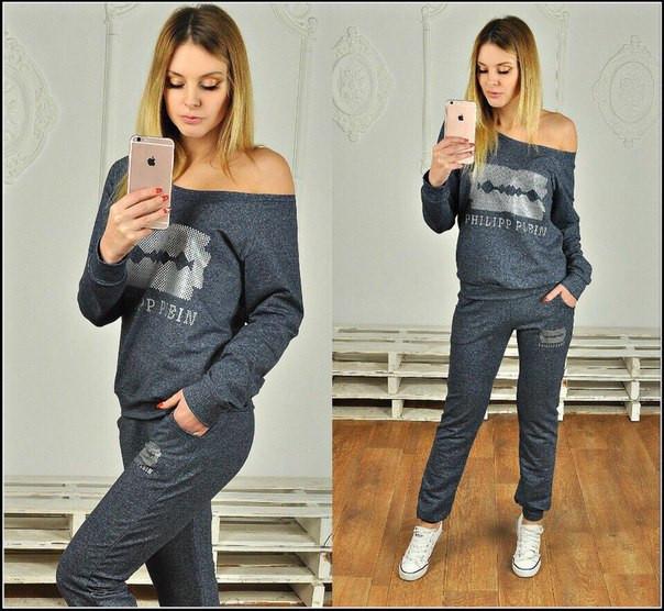 4587304d Спортивный костюм женский кофта на одно плечо - Интернет-магазин