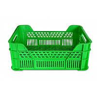 Ящик пластиковий, 400х300х150 мм 66-115  // Ящик пластиковый, Украина