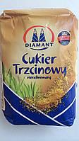 Сахар тростниковый коричневый Diamant Польша 1кг