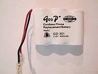 Аккумулятор для радио телефона 301,T107,E107(400mah)