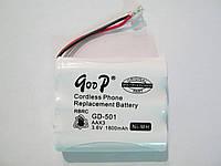 Аккумулятор для радио телефона 501,T110(1800mah)