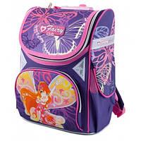 Ранец ортопедический CLASS Fairy Viola 9610 каркасный для девочки Чехия