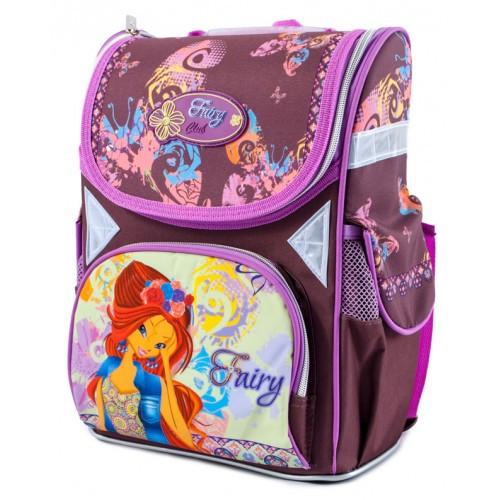 93c658af82d1 Ранец ортопедический CLASS Fairy Magic 9608 каркасный для девочки Чехия -  e-sumki.com