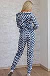 Женский спортивный костюм, турецкая двунитка (звезда), р-р 42; 44; 46, фото 4