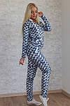 Женский спортивный костюм, турецкая двунитка (звезда), р-р 42; 44; 46, фото 5