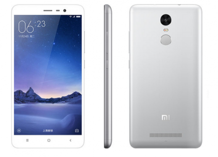 Смартфон Xiaomi Redmi Note 3 16GB (Silver) Global Rom