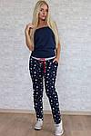 Женские спортивные штаны, турецкая двунитка, р-р 42; 44; 46, фото 3