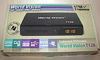 World Vision T126 цифровой эфирный DVB-T2 ресивер (тюнер Т2)