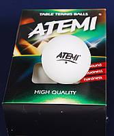 Шары для настольного тенниса Atemi белые