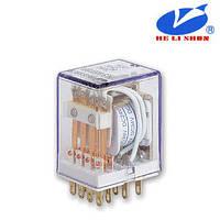 HLS-4453(18F)-4 РЕЛЕ (12VDC) ток-7A / контакты-4С