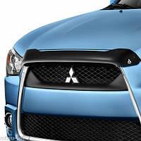 Дефлектор на капот Mitsubishi Outlander 2013-15 новый оригинальный