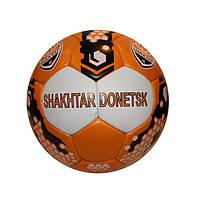 Мяч футбольный №5 Гриппи 5сл. ШАХТЕР-ДОНЕЦК FB-0047-5105 (№5, 5 сл., сшит вручную)