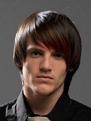 Мужской парик из натуральных волос