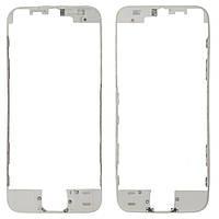 Рамка под дисплей iPhone 5S white