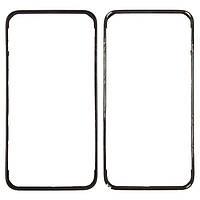 Рамка под дисплей iPhone 4S black