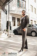 Мужской спортивный костюм М 02 dark gray