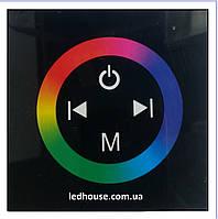 RGB контроллер Врезной Touch Panel (Black) 144W
