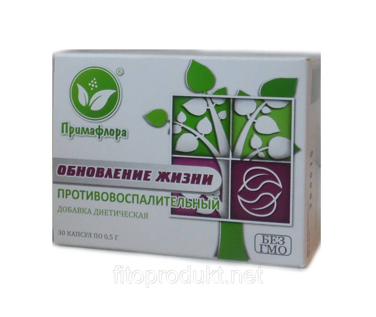Обновление жизни противовоспалительный препарат №30 Примафлора