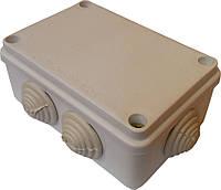 Коробки монтажные для наружной установки 120х80х50мм IP54 с 6-тью гермовводами 40шт/уп