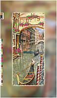 """Схема для вышивки бисером на подрамнике (холст) """"Улочка Венеции"""""""