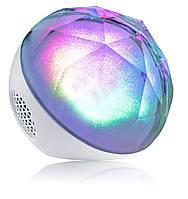 Кристальная цветомузыкальная колонка с Bluetooth на дистанционном управлении