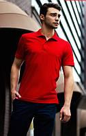 Мужская красная футболка поло Koi PUNCH