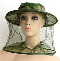 Кепка с антимоскитной сеткойдля рыбалки, пчеловодства, фото 1