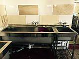 Ванны- моечные из нержавейки, фото 5