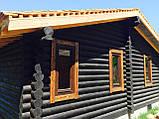 Покраска деревянного дома, сруба, фото 3