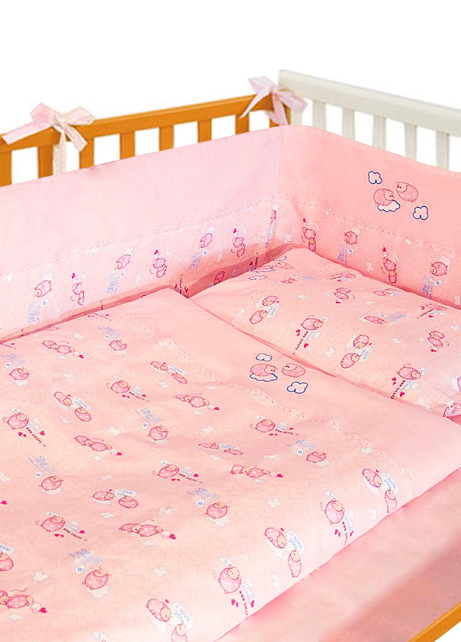 Детский набор с защитой в кроватку ТМ Ярослав цвета в ассортименте