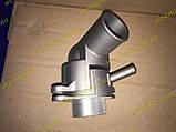 Термостат в сборе Ланос Авео Lanos Aveo 1.6 Grog 96407677 железный корпус, фото 5