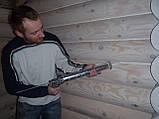 Герметизация деревянного дома, сруба, фото 3