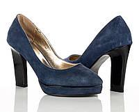 Туфли синие 38 рзм., фото 1