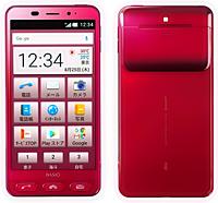 Sharp Basio 2 явно отличается от большинства смартфонов