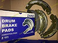 Колодки тормозные задние Aveo Авео ЗАРЗ люкс в индивидуальной упаковке (к-кт 4 шт) Z111