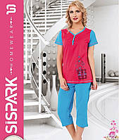 Женская пижама SIS-126 (капри)