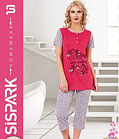 Женская пижама SIS-125 (капри)