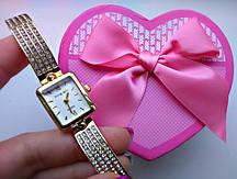 Женские часы King Girl прямоугольные
