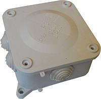 Коробки монтажные открытой установки 110х110х50мм (Р3) IP44 с 6-тью гермовводами 21шт/уп