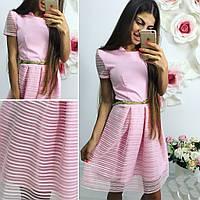 Платье юбка в полоску 29- 161
